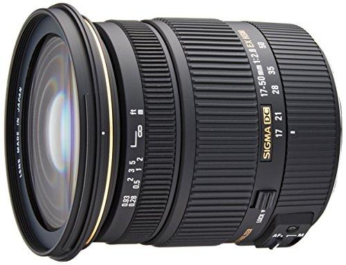 Lente Sigma 17-50mm f/2.8 EX DC OS HSM Zoom para Canon APS-C