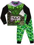 Marvel Pigiama per Ragazzi The Incredible Hulk Multicolore 3-4 Anni