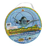 Water Sports Swim Thru Rings (3 Pack) - Pool Toys for Kids - Adjustable Floating Swim Thru Rings for All Day Fun, Basic pack (81055-7)