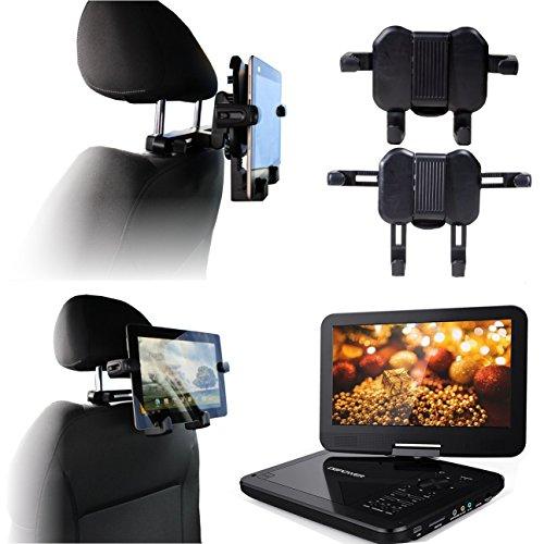 Navitech Im Auto Portabel DVD-Player Kopfstütze/Kopfstütze Halterung/Halter für die Autoradio 2DIN creatone vw8000 8