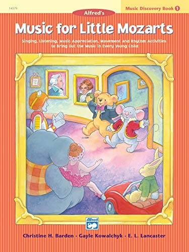 Music for Little Mozarts Singing Listening Music Appreciation Movement and Rhythm Activities product image