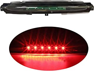 High Mount Stop Tail Light, LED Third 3rd Brake Cargo Light Assembly Replacement for 2002-2009 Chevy GMC Buick (Clear Lens)