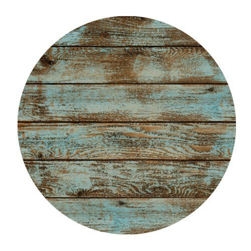 Non-Slip Rubber Mouse Pad Rustic Old Barn Wood Round Mousepad