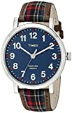 Timex Unisex TW2P69500AB Heritage Collection Watch with Plaid Band