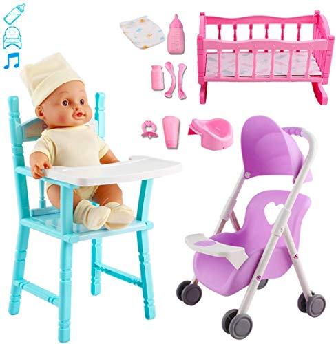 DeAO Mi Primera Muñeca Bebé Conjunto Set