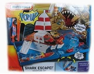 Matchbox Deluxe Pop-Up Playset Shark Escape Adventure Set