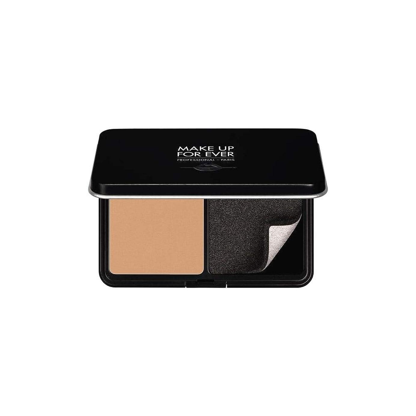 気候定刻動物メイクアップフォーエバー Matte Velvet Skin Blurring Powder Foundation - # Y345 (Natural Beige) 11g/0.38oz並行輸入品