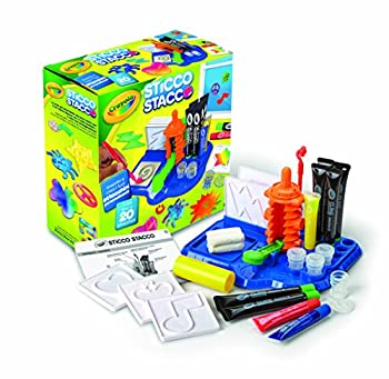 Crayola Cling Creator Art Activity Make up to 20 Customized Clings Easy Color Mixing Sticks on Windows Mirrors and Flat Surfaces