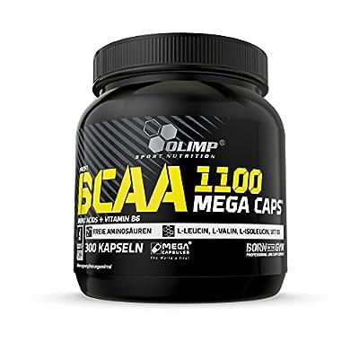 Olimp BCAA Mega Caps 1100 300caps by Olimp