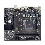 SovelyBoFan Placa Base AM4-D4 1331 Pin Compatible con Ruilong Ryzen Athlon y Otros para A320 DDR4
