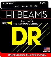DR Hi-Beam Stainless Steel Bass Strings40-100