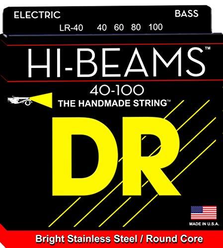 DR String LR-40 Hi-Beam Jeu de cordes pour guitare basse