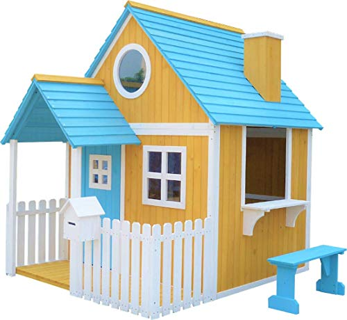 Caseta infantil de madera MASGAMES