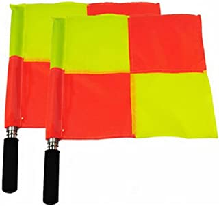 ACHICOO Football Soccer Basketball Linesman Referee's Hand Signal Code Referee Flag Kits Competition Flag Outdoor Products