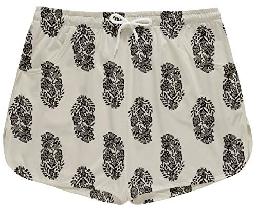 Women Summer Floral Prited Beach Shorts -  -  X-Large