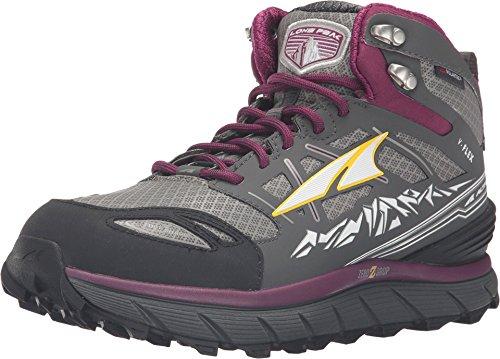 Altra Footwear Women's Lone Peak 3.0 Mid Neoshell Trail Running Shoe,Gray/Purple, Size 9.5...