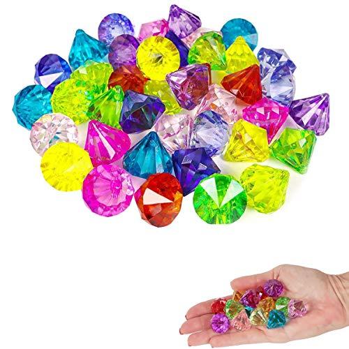 Pocut 60 Pcs Multicolor Party Fa...