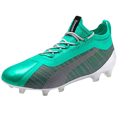 PUMA Mens One 5.1 Le Fg Ag Soccer Cleats - Green - Size 11.5...