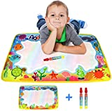 Aqua Water Doodle Mat, Magic Doodle Drawing Painting Pad Multi Coloured Two Water Pens Quality Rangebow Product For Boys Girls and Toddlers Two Years Plus (Sea Creatures GC00612) -