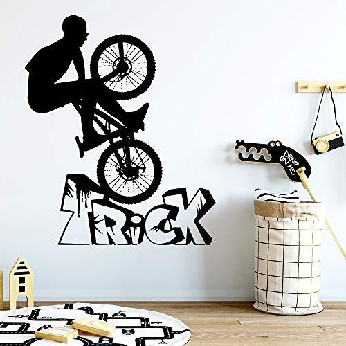 Tianpengyuanshuai schattige sportieve trick muursticker sticker kinderkamer decoratie woonkamer decoratie kunststicker