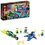 LEGO 71709 NINJAGO Jay and Lloyd's Velocity Racers with Plane and Bike Speeders, Prime Empire Racing Vehicles