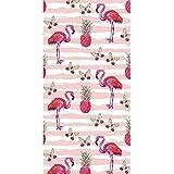 CheeseandU Thick Soft Pool Beach Towel Hawaiian Tropical Flowers Pineapple Flamingo Large Microfiber Terry Blanket Picnic Carpet Yoga Mat Boho Tablecloth for Women Girls Kids Gift Photo Prop 60'
