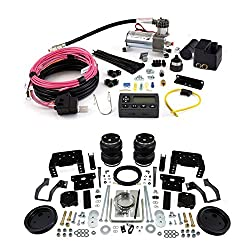 Air Lift 88398 72000 Rear Set of Load Lifter 5000 Ultimate Series Air Springs with Wireless AIR Dual Path On-Board Air Compressor System
