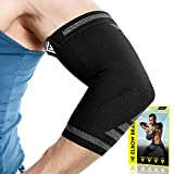 Langov Elbow Brace For Men And Women (Pair)  Elbow Compression Sleeve For Tendonitis, Weightlifting, Golfers & Tennis Elbow Brace - Arm Wrap Support For Reducing Pain In Arms