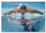 Michael Phelps Swimmer A2 ungerahmt Poster Bilder American