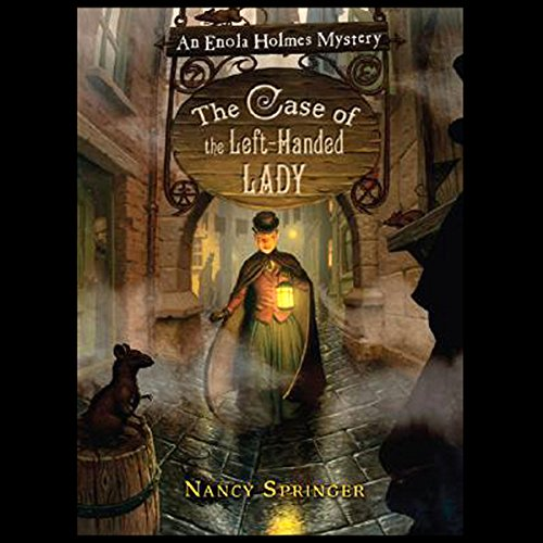 The Case of the Left-Handed Lady audiobook cover art