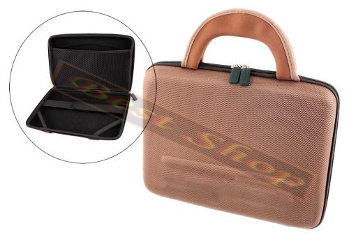 """Ematic Carrying CASE for 10.3"""" Laptop,NOTEBOOKS,Computers &I Pads (Brown)"""