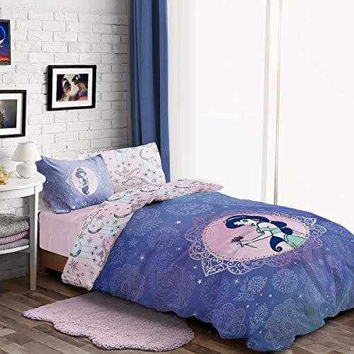 Disney Aladdin Pretty As Paisely Princess Jasmin Panel Einzelbett Bettbezug Set