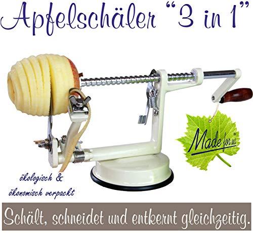 Épluche-pommes 3-en-1 NOUVEAU DESIGN facilitant le nettoyage