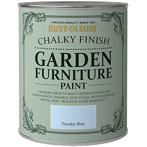 Rust-Oleum Chalky Finish Garden Furniture Paint 750ml - All Colours (Powder...
