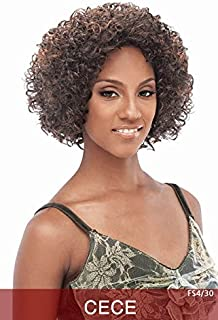 CECE - Vanessa Fifth Avenue Collection Synthetic Hair Wig #1B Off Black