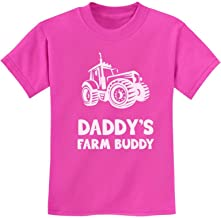 TeeStars - Daddy's Farm Buddy - Gift for Farmers Children Funny Kids T-Shirt
