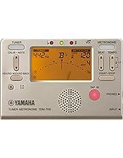 ヤマハ YAMAHA チューナーメトロノーム ゴールド TDM-700G チューナーとメトロノームが同時に使えるデュアル機能搭載 サウンドバック機能 日常の練習に最適