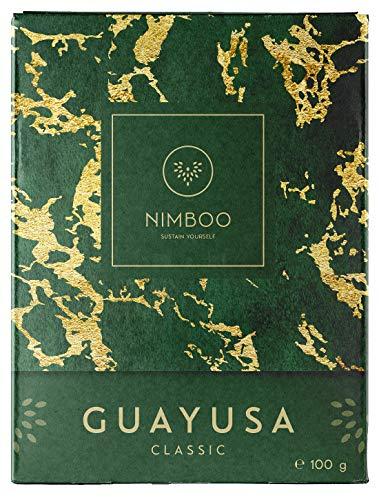 Guayusa Tee CLASSIC lose - NIMBOO - (100g) | PLASTIKFREI verpackt! | FLOW | FOCUS | ENERGY | Koffeinhaltige Alternative für Grüntee - Mate - Kaffee - Energy drinks