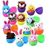 A Huge Hit at Easter : These surprise Easter eggs are great for kids (both girls and boys)! Perfectly used as easter basket stuffers, basket fillers, gifts, stocking stuffers, christmas gifts, birthday gifts, school classroom rewards, carnival prizes...