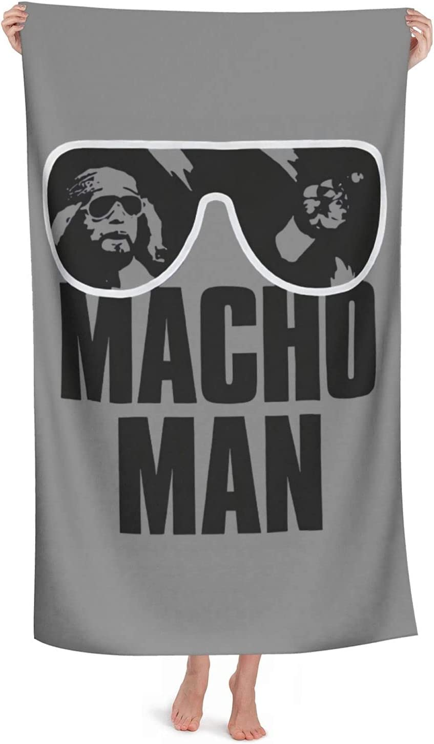 Lorieciosen Macho Man Towels Beach Dry Quick Swi Wholesale Soft and Same day shipping