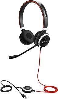 Jabra Evolve 40 MS USB-C Stereo Corded Headset