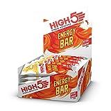 HIGH5 Energy Bar, Barretta Energetica con Frutta Vera, Adatta per Vegani, Senza Dolcificanti Artificiali (25 x 55g) (Banana)