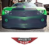 MIDWEST CORVETTE Camaro NoviStretch Front Bra High Tech Stretch Mask Fits: All 5th Gen 2010 Through 2015 Camaros