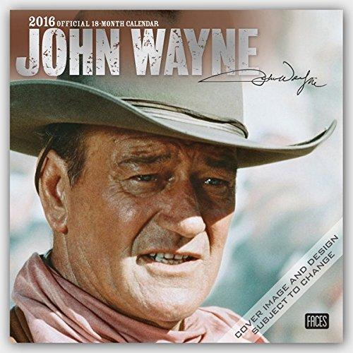 John Wayne 2016 - 18-Monatskalender: Original BrownTrout-Kalender [Mehrsprachig] [Kalender] (Wall-Ka