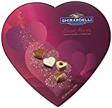 Ghirardelli Valentines Day Sweethearts Heart Shaped Box Gift, 4.4 Ounce