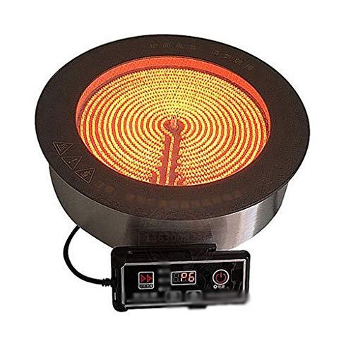 Brûleur de comptoir Batterie de cuisine Ustensiles électriques Céramique Chauffante multi-fonctions encastrée