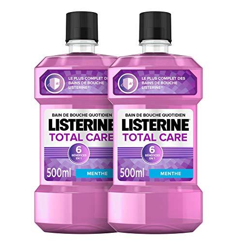 Listerine Bain de Bouche 6 en 1 Total Care – Lot...