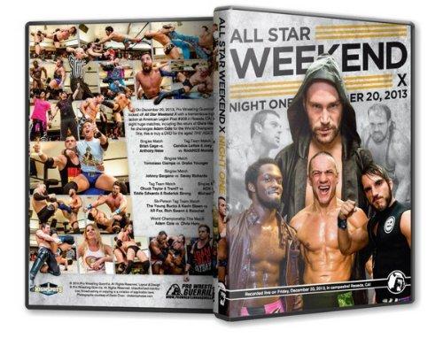 Pro Wrestling Guerrilla - PWG All Star Weekend X Night 1 DVD