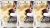 3x Schwarzkopf Color Expert omegaplex Haarfarbe, 12–0Ultra Light Natural Blonde