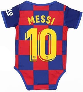 Qzlclub New 2019-2020 Season Soccer Club Bodysuit Onesie Baby Suit for 9-18 Months Babys